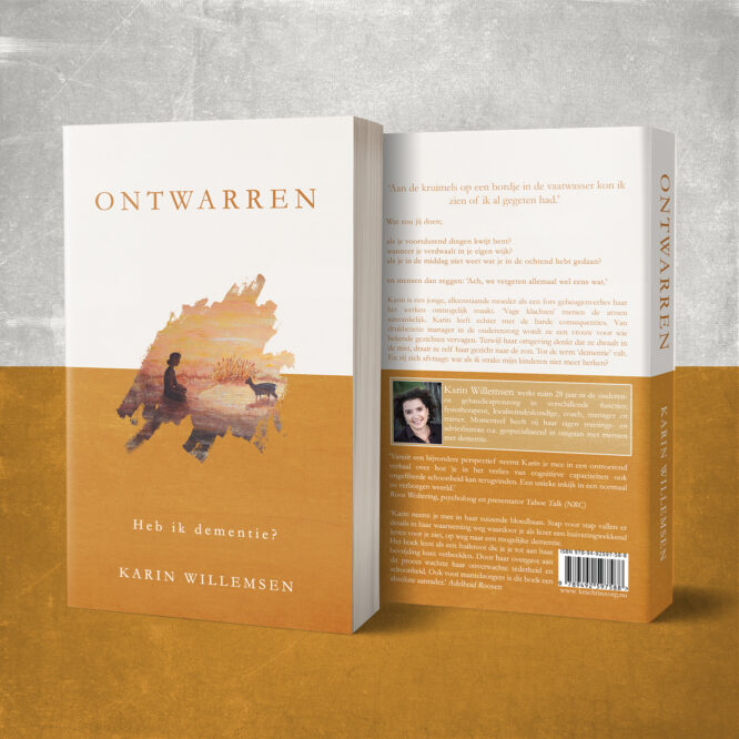 Winnaar ontwerpwedstrijd boekomslag 'Ontwarren'